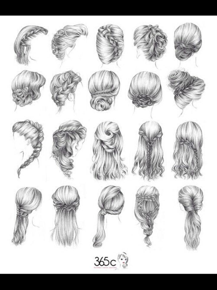 A lot of Cute braides