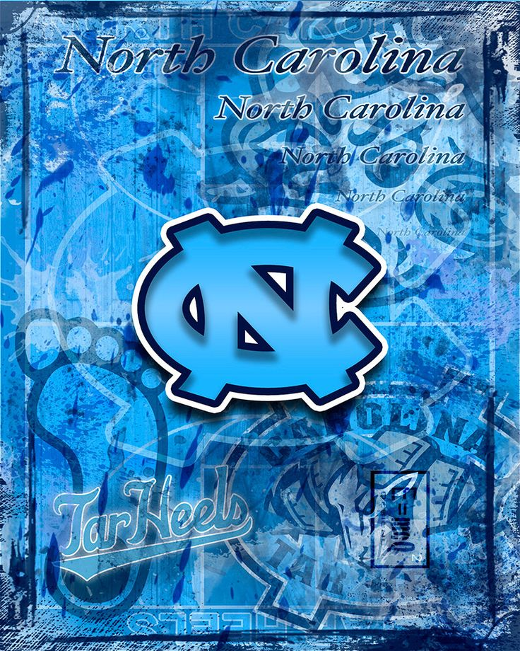 A personal favorite from my Etsy shop https://www.etsy.com/listing/274294466/north-carolina-tar-heels-art-tar-heels