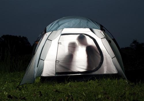 I wanna go camping.