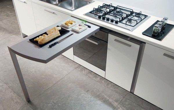Cucina penisola estraibile (Foto 37/40)   Design Mag