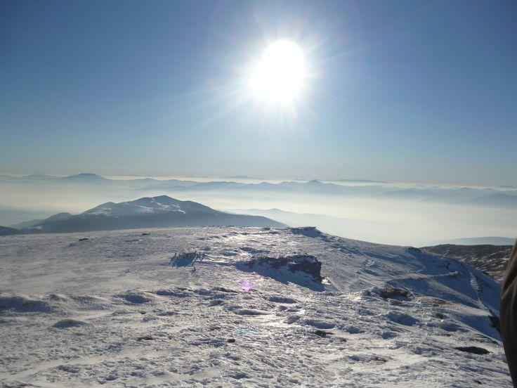 Top of Kaimaktsalan Mountain, Greece