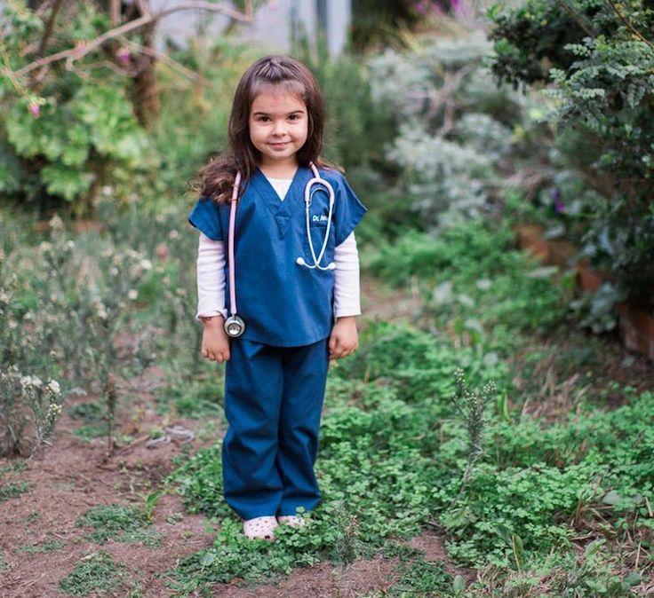 DIY Arzt Kostüm für Kinder