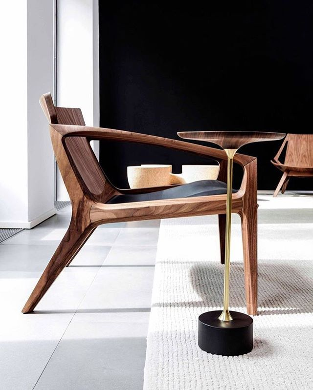 Contemporary Armchair • Wooden LINNA by #JaderAlmeida  Addicted ✔️ So Gentleman Modern #ModernArmchairs #Chair #Armchair #ChairCollection  #design #art #Iconicfurniture #Designstudio #Brazilian #Brazilianstyle #Exotica #comtemporaryChair #Glamour #Art #Wooden #Boho #design #interior #inspiration #bohemianChic  #Furniture #modern  #InteriorDesign #designporn #Stylish #home #designlovers #midcenturyfurniture #designaddict #GentlemanModern
