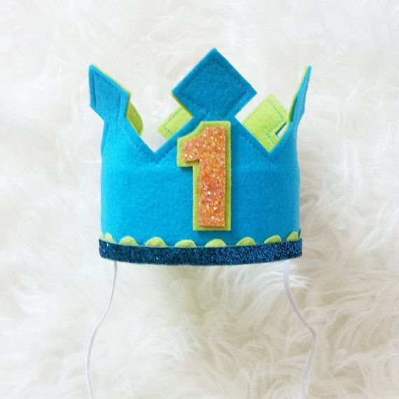 Compleanno ragazzo torta Smash insieme corona di di Kutiebowtuties