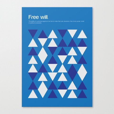 Philographics Poster - Free Will