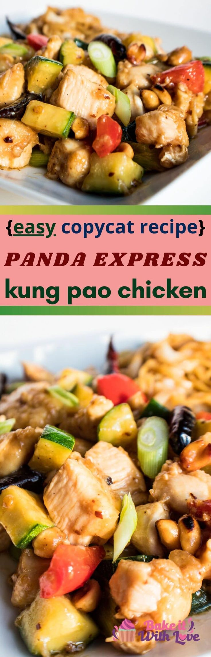 Jun 15, 2020 – My super easy Panda Express Kung Pao Chicken is a tasty dinner of wok fried, marinated chicken and stir f…