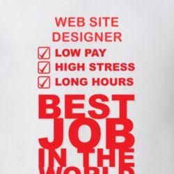 Web Site Designer Best Job Ever Occupation T Shirt