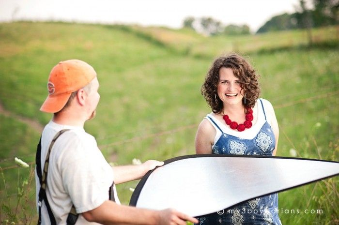 How to use a reflector.