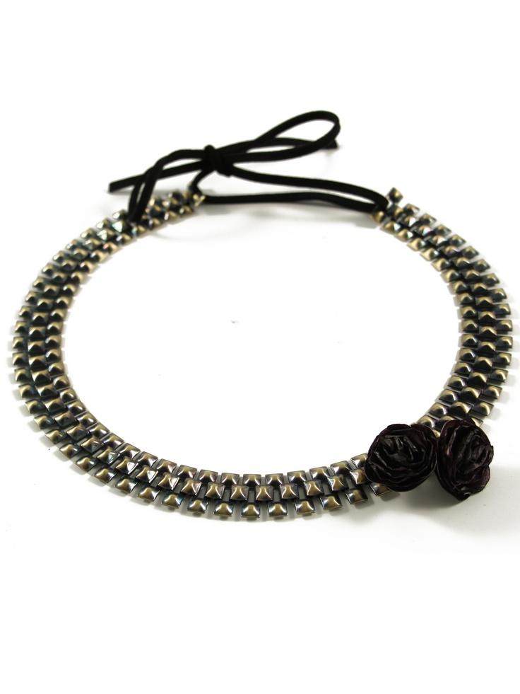 Joe - Headband grosse chaine  L'Atelier des Dames  http://www.eboutique.latelierdesdames.fr