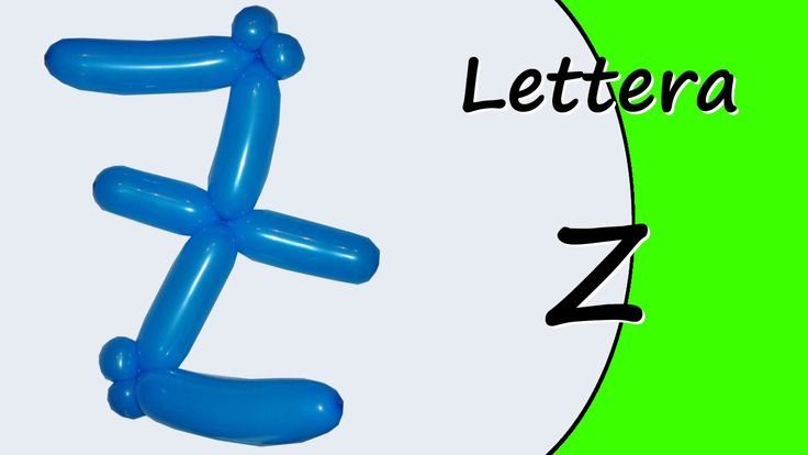 Video tutorial on how to make the letter Z with balloon twisting. Learn the alphabet with balloons modeled #alphabet #letterZ