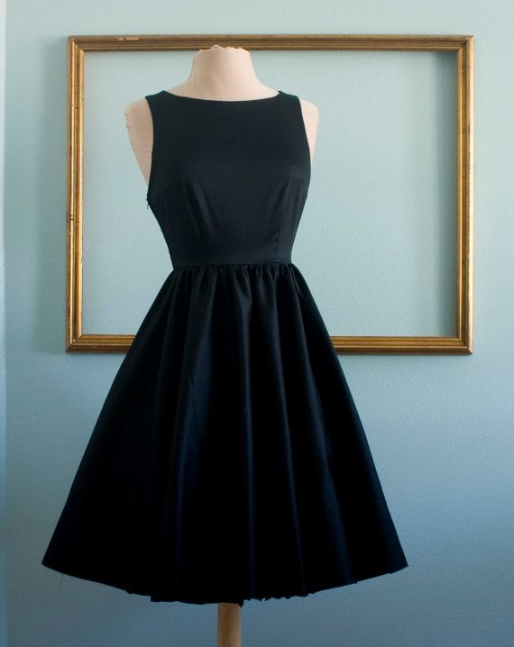 Audrey hepburn breakfast at tiffany's dress in by MichyLouDotCom