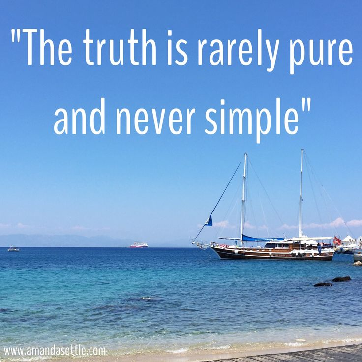 oscar wilde the truth is rarely pure and never simple quote