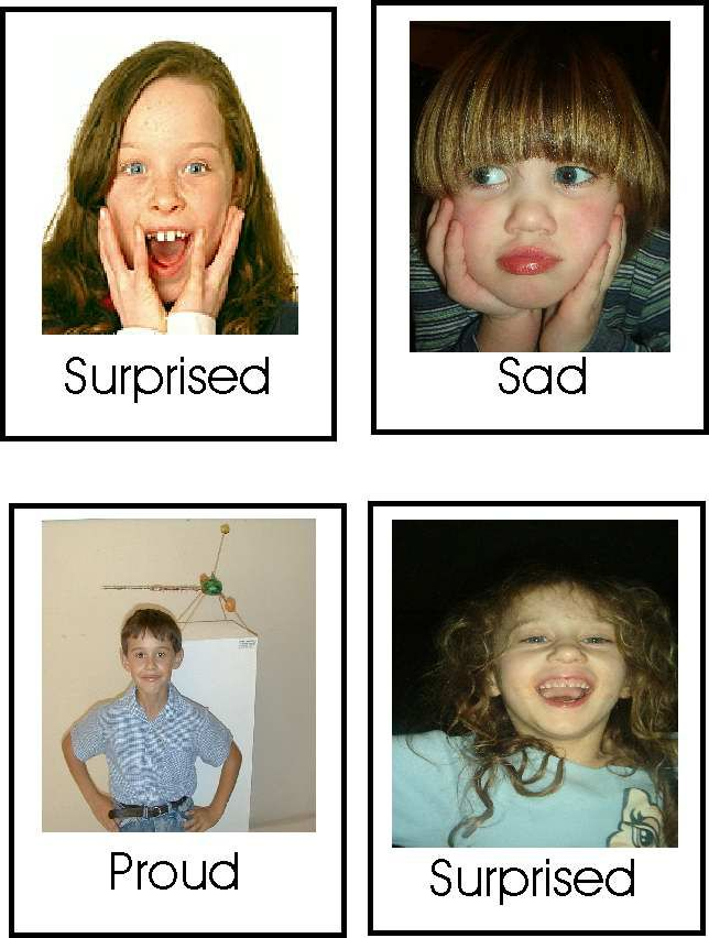 "Emotions ""Go Fish"" Game An emotion recognition game with free printable cards from Autism Inspiration. This is a fun game that helps work on emotion recognition."