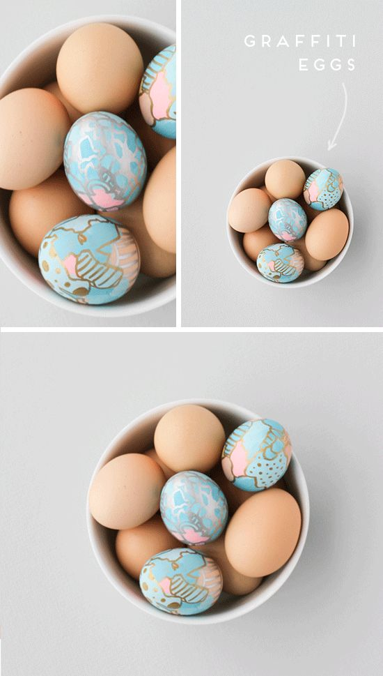 Make this: Awesome egg decorating idea for Easter (DIY craft project) | Paper & Stitch