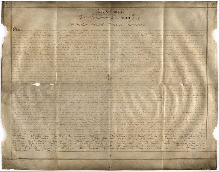 A rare copy of the Declaration of Independence has been found — in England