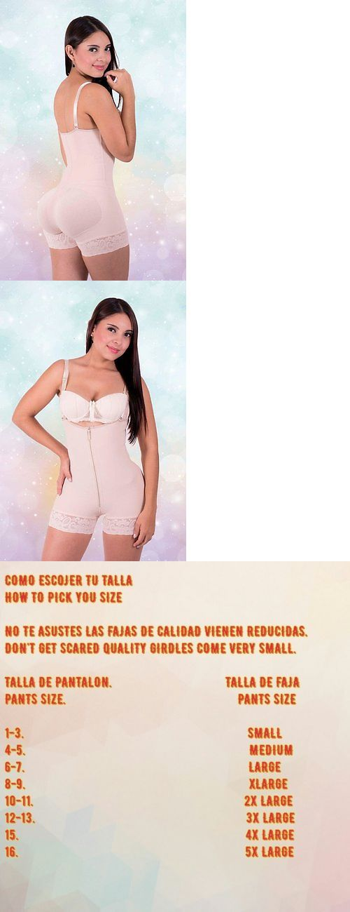 Women Shapewear: Salome Ba02 Fajas Colombianas Reductoras Levanta Cola Short Girdle Body Shaper -> BUY IT NOW ONLY: $45 on eBay!