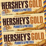 Hershey's Ditches the Chocolate For Its New Peanuts and Pretzels Gold Bar