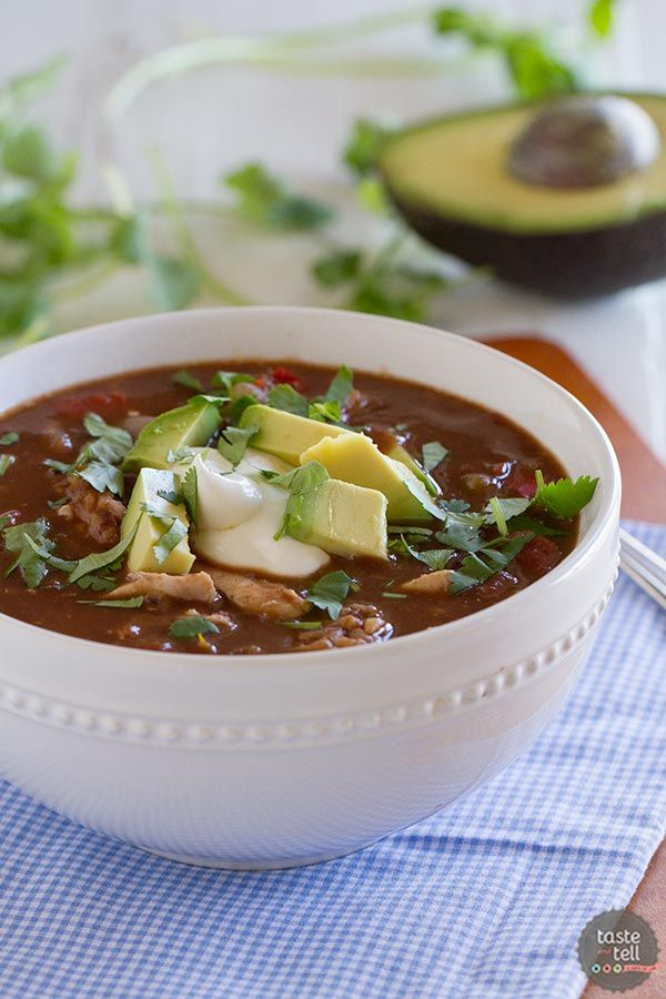 Southwestern Chicken and Rice Soup (via Bloglovin.com )