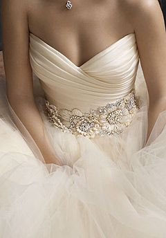 Great wedding dress details