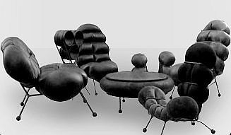 Recycool has shown the world how to make things a bit uncomfortable with their new range of inner-tube furniture. The chairs and tables bear great names like 'The Big Yogi' and 'N...