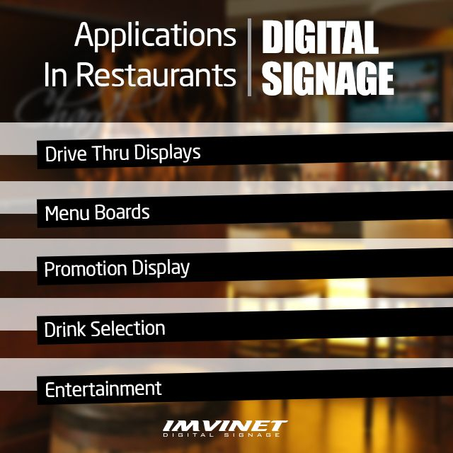 Thanks to the Digital Signage you can quickly communicate the specials of the day and make changes to the menu instantly besides informing the promotions taking advantage of state-of-the-art digital visualization technology. Show photos text video and more. Easily create schedules based on a specific date and time or on periodic dates. The digital menu is not only for food you can display the impressive selection of drinks offered by the local while displaying the diversity of dishes. Do…