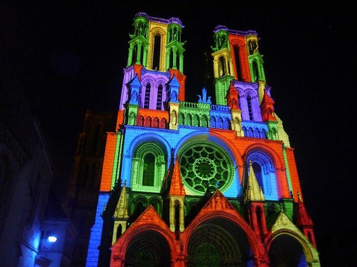 Illuminations de la cathédrale de Laon
