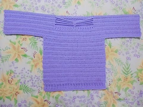 Guideposts Knitting Pattern : Simple Crochet Sweater Size 2 Knit patterns, Free ...