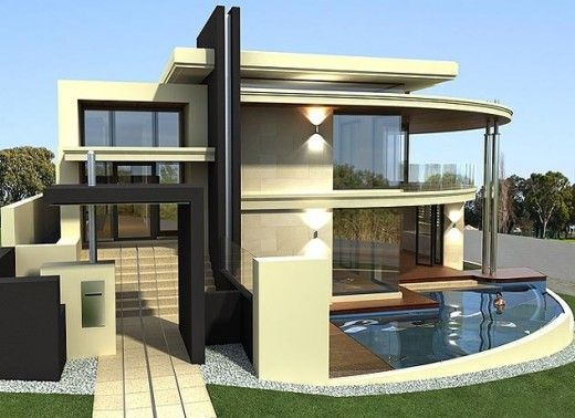 431 best plantas baixas floorplans modern house images on pinterest cottages glass and - Latest design modern houses ...