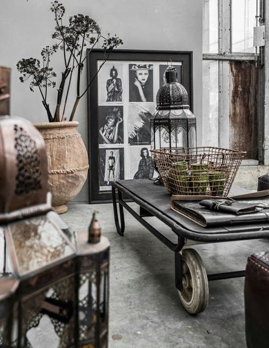 Interior Design Industrial Furniture ~ Best industrial living rooms ideas on pinterest