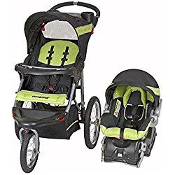 Baby Trend Expedition Travel System with Stroller and Car Seat, Electric Lime Green