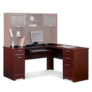 "L-Shaped Desk, 60""wide x 60""deep x 30""high, Magellan Collection, Cherry Finish, SKU# 475958, ONLY $199.00 