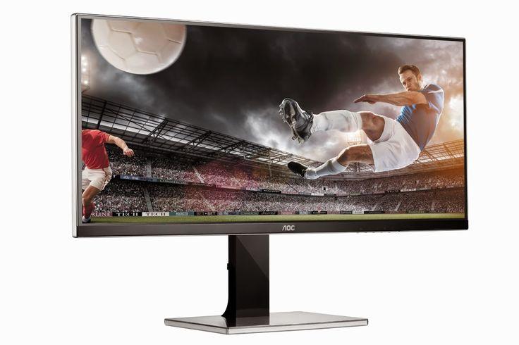 "Fantechnology: AOC lancia un nuovo display 34"": schermo e formato..."