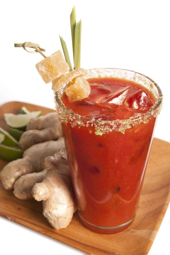 ... Bloody Mary, Refreshing Drinks, Drinks Recipe, Mixed Drinks, Adult