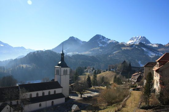 Gruyeres Switzerland. 10 breathtaking towns in Europe you've probably never heard of