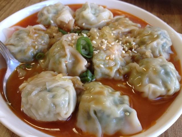 Spicy wonton @ Shanghai Dumpling House | San Francisco, CA    http://winendinesarahstyle.blogspot.com/2012/03/shanghai-dumpling-house.html