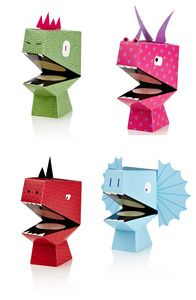 Dino vingerpopjes - NPW, kinderen - spelen en knutselen, papierwaren & bureau - spelen en knutselen, kinderen - leuke cadeautjes, Per merk - NPW