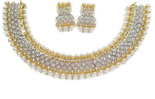 Ddivaa Ethnic Indian Bollywood Gold Plated White Stone Wh... https://www.amazon.com/dp/B071W3L55J/ref=cm_sw_r_pi_dp_x_xmqtzb6X3N3WC