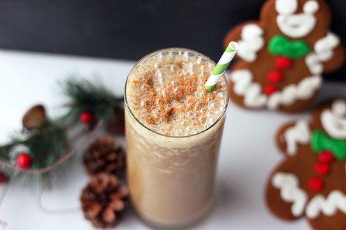 Gingerbread Smoothie – Gluten-free + Vegan