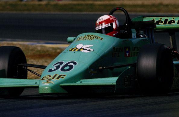 Paul Belmondo - Lola T87/50 [HU2] Cosworth DFV / Mader - GDBA - Le Mans - 1987 FIA Formula 3000 Intercontinental Championship, round 10 - © Getty Images
