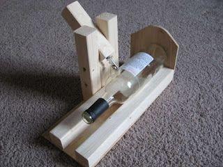 Mad Scientist's Lair: Wine Bottle Cutting Jig