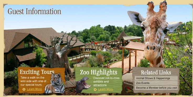 Cheyenne Mountain Zoo: Tickets, Hours & Directions - Guest Information