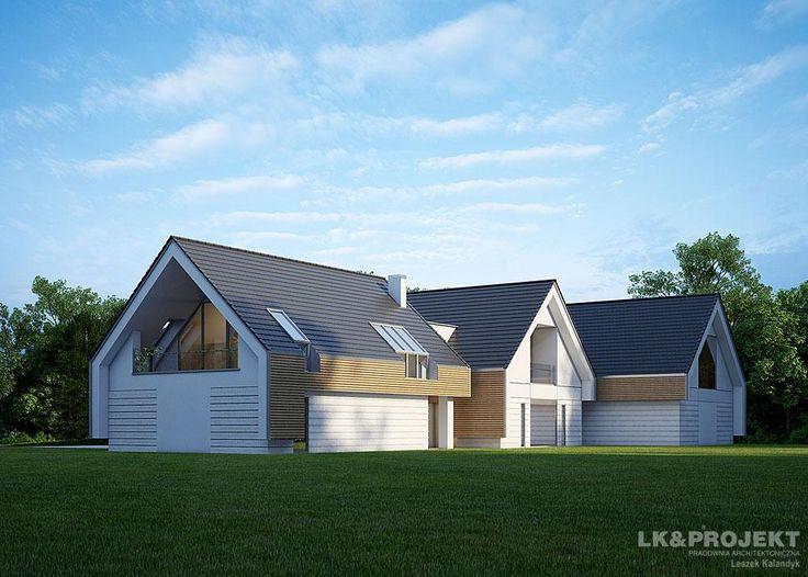 Projekty domów LK&Projekt LK&1169 wizualizacja 4