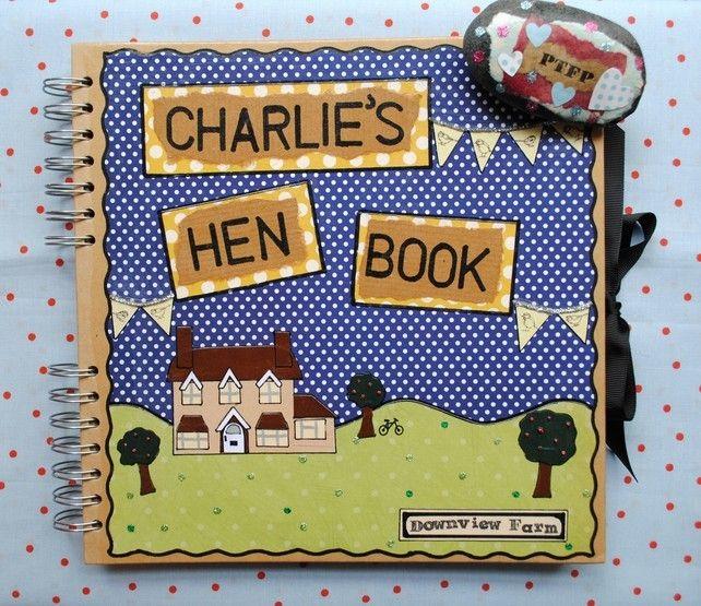 Hen+Party+Book+-+Personalised+Scrapbook+Album £25.00