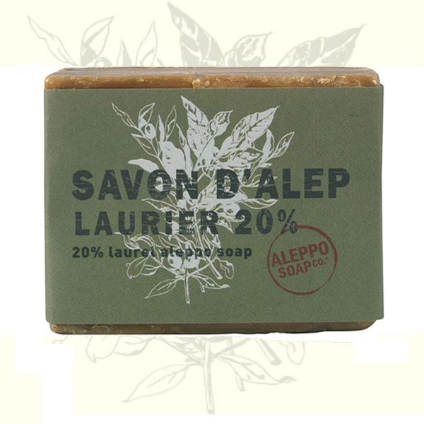 #Aleppo #Soap with 20% Laurel Oil  This high quality olive and laurel (20%) soap from Aleppo is processed according to ancient traditions.