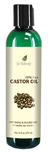 Pure Castor Oil - Cold Pressed for Eyelashes, Skin, Hair Growth Shampoo - 100 % Pure Hexane Free - No Fillers, Dyes or Artificial Ingredients of Any Kind - 16 Fl Oz -- Quickly view this special deal, click the image : Baking Ingredients