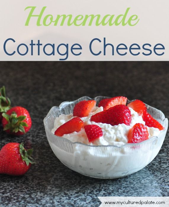 Cottage Cheese | Recipe | Cottages, Homemade and Cottage ...