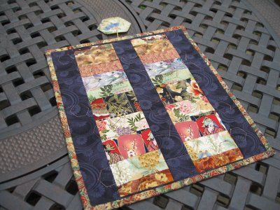 Two sided Japanese quilt