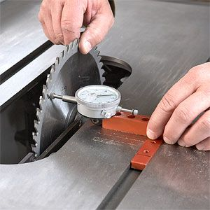 Align your tablesaw blade, fence, and riving knife for maximum accuracy.