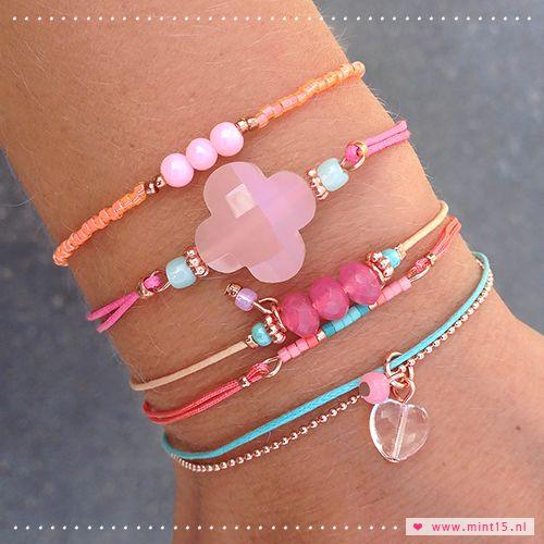 Sunny bracelets - Mint15 www.mint15.nl