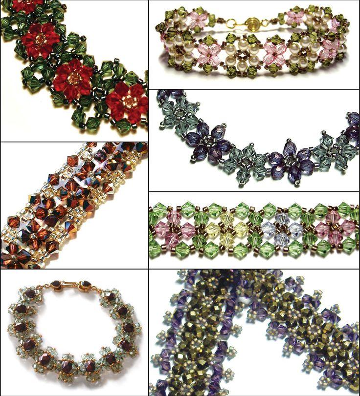 Beaded Bracelet Patterns at Sova-Enterprises.com